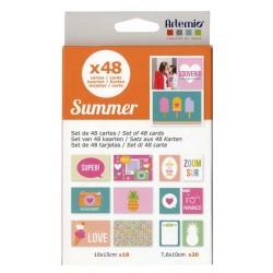 Kit carte Artemio - Summer
