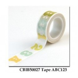 Washi Tape Carta Bella - ABC123