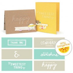 Embossing Strips We r memory - Rise & Shine