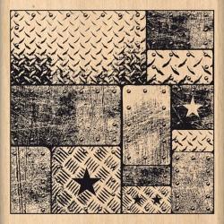 Timbro legno Florileges - Blocs Metalliques