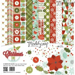 Pad Carte 15x15cm ModaScrap - It's Christmas Time