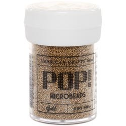 Perline Microbeads American Crafts - POP! - Gold/Oro