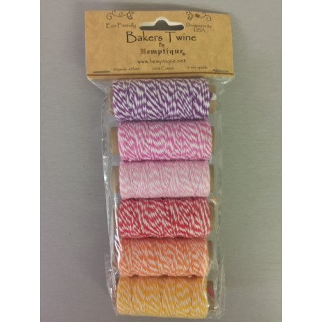 Bakers Twine by Hemptique - Pack 6.3