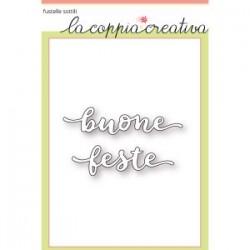 Fustella La Coppia Creativa - Buone Feste 2