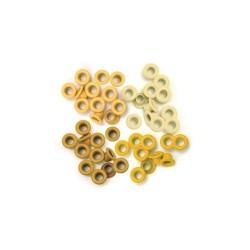Occhielli per foratrice  We R - Standard Yellow