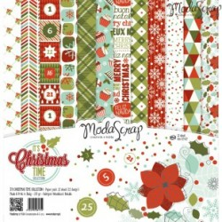 Kit carte ModaScrap - It's Christmas Time