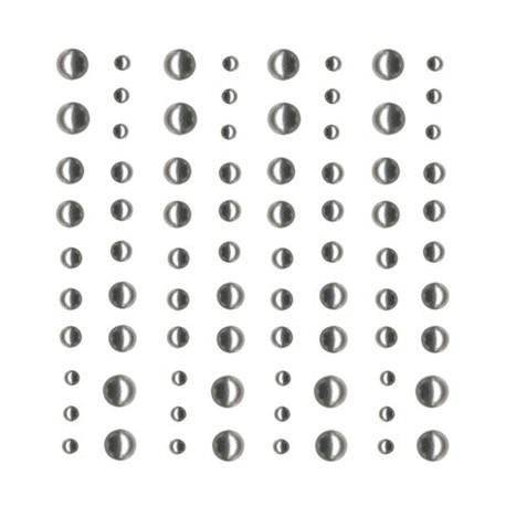 Perle Artemio 80pz 2 misure - Argento