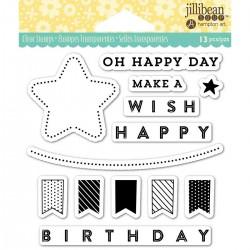 Timbri Jillibean Soup clear - Birthday