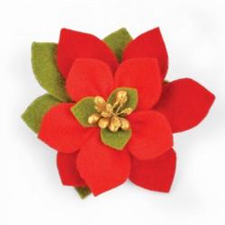 Fustella Sizzix Bigz - Build a Bloom, Poinsettia