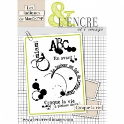 Timbro Clear L'Encre et l'image - Croque la vie