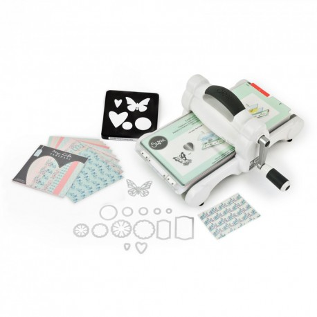 Sizzix Big Shot Starter Kit (White & Gray)