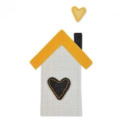 Fustella Sizzix Bigz - Happy House