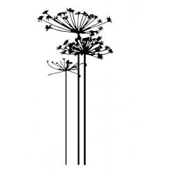 Embossing Folder Nellie Snellen - Condolence Flower 1
