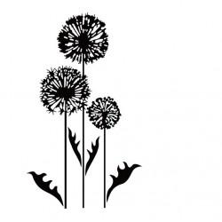 Embossing Folder Nellie Snellen - Condolence Flower 3