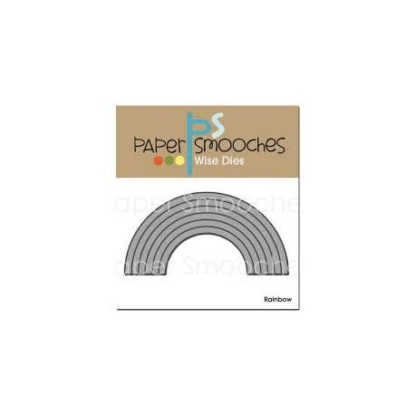 Fustella Paper Smooches - Rainbow