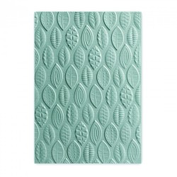 Embossing folder Sizzix TI 3-D A6 - Leaves