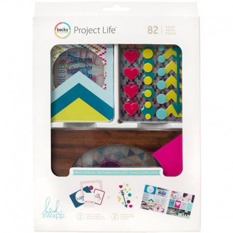 Kit Project Life - Bright Overlays