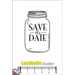 Timbro Cling ArtStamp - Save The Date
