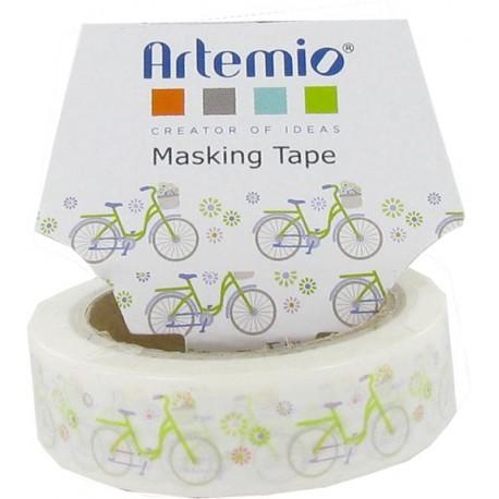 Washi tape Artemio - Biciclette