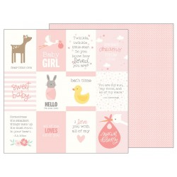 Carta Pebbles - Lullaby - Baby Girl Quotes