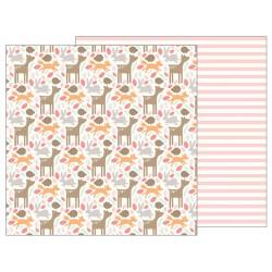 Carta Pebbles - Lullaby - Woodland Baby Girl