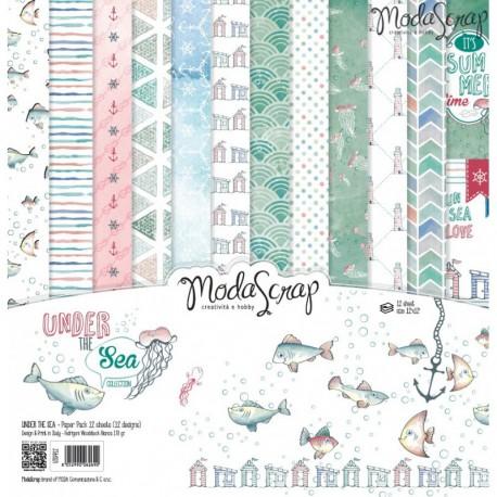 Kit carte ModaScrap - Under The Sea
