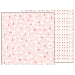 Carta Pebbles - Lullaby - Delievring Baby Girl