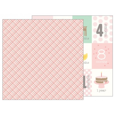 Carta Pebbles - Lullaby - Baby Girl Plaid