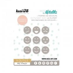 Fustella Kesi'Art - Métaliks mini Emojis