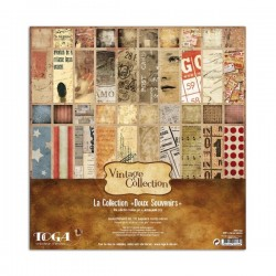Kit carte Toga - Vintage Collection - Doux Souvenirs