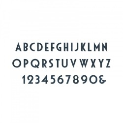 Sizzix Bigz XL T.Holtz Alphabet Die - Deco