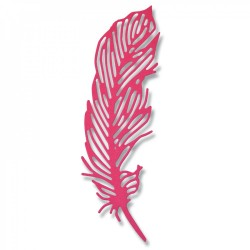 Fustella Sizzix Thinlits - Delicate Feather