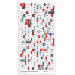 Stickers Toga - Alfabeto Londres