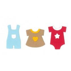 Fustella Impronte D'Autore - Vestitini Baby
