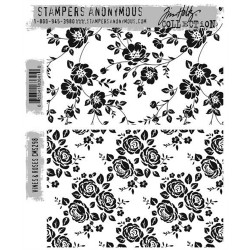 Timbro Cling Tim Holtz - Vines & Roses