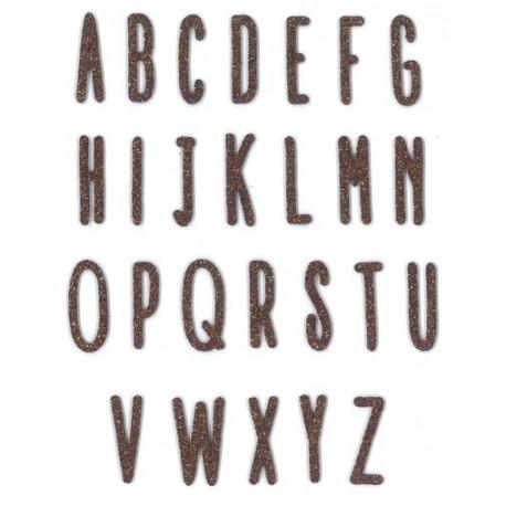 Fustella Impronte D'Autore - Alfabeto Stretto