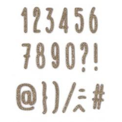 Fustella Impronte D'Autore - Numeri Stretti