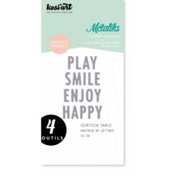Fustella Kesi'Art - Métaliks Quatuor Smile