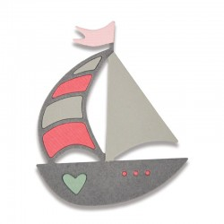 Fustella Sizzix Thinlits - Ship Away Mini