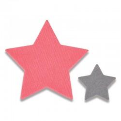 Fustella Sizzix Thinlits - Tiny Stars Mini