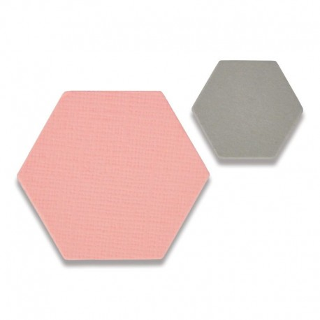 Fustella Sizzix Thinlits - Small Hexagons Mini
