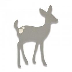 Fustella Sizzix Thinlits - Cute Deer Mini