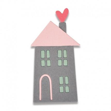 Fustella Sizzix Thinlits - Home Sweet Home 2 Mini