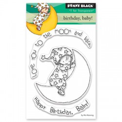 Timbri clear Penny Black - Birthday , baby!