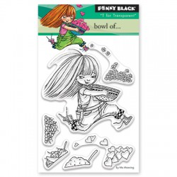 Timbri clear Penny Black - Bowl of...