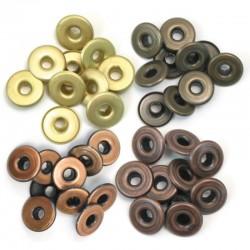 Occhielli per foratrice  We R - Wide Warm Metal
