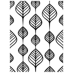 Embossing Folder Ultimate Crafts - Screen of Leaves