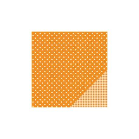 Cartoncino american craft - Apricot dot