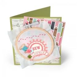 Fustella Sizzix Bigz - Embroidery Hoop