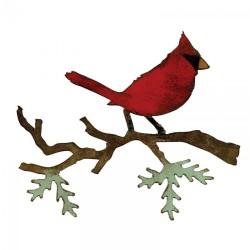Fustella Sizzix T.Holtz - Christmas Cardinal